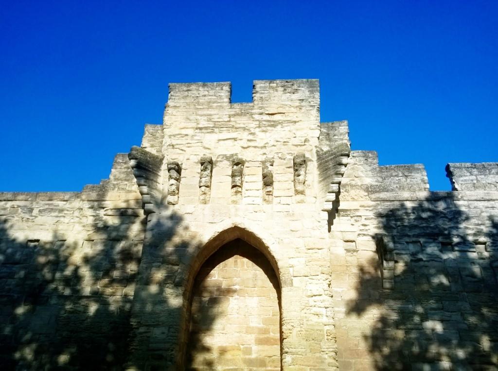 rempart d'Avignon - porte Saint Lazare